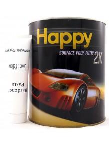 สีโป๊วบางชนิดน้ำยาเหลือง HAPPY